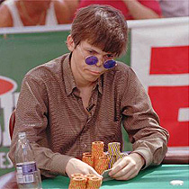Stu Ungar in the 1997 final